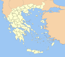 Description de l'image Greece prefectures map dark.PNG.