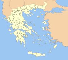 Description de l'image Greece prefectures map dark.PNG.