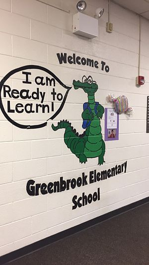 Hanover Park, Illinois - District 20 Greenbrook Elementary School mascot