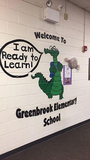 Hanover Park, Illinois - District 20 Greenbrook Elementary School mascot