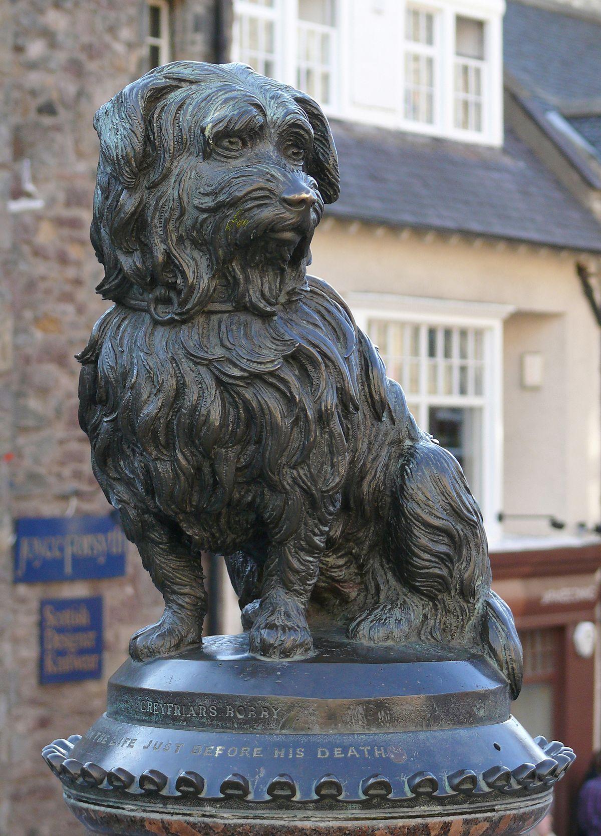 Terrier Dog Statue  1990/'s