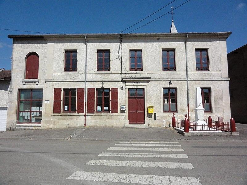 Grimaucourt-près-Sampigny (Meuse) mairie