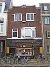 foto van Winkelwoonhuis met kenmerken van de Amsterdamse School en de Art Déco-stijl