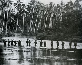 Actions along the Matanikau battles during the Guadalcanal campaign in WWII