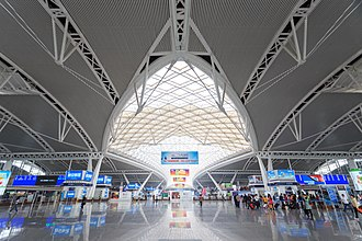 Guangzhou South Railway Station - 3F Departure Level