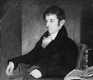 Gulian C. Verplanck - Portrait of Verplanck by John Wesley Jarvis, ca. 1811