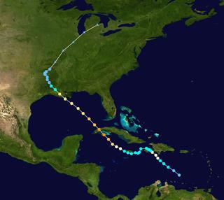 Meteorological history of Hurricane Gustav
