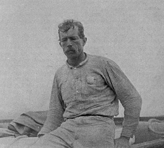 Guy Bradley - Guy Bradley, his deputy's badge visible on the left side of his chest