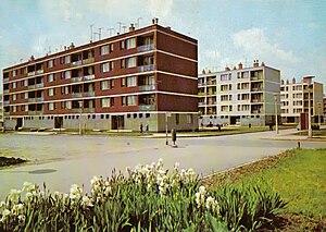 Panelház - Precast concrete buildings in Gyöngyös (1974)