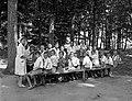 Gyerek csoportkép, 1943 Farkasgyepű. Fortepan 72365.jpg