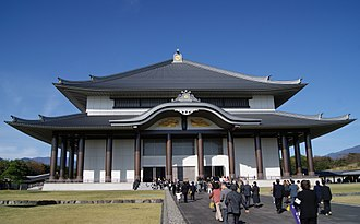 Dai Gohonzon - The Hoando storagehouse building in Taisekiji, where the Dai-Gohonzon is currently enshrined.