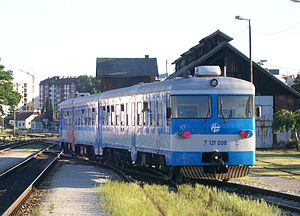 HŽ series 7121 - Diesel-hydraulic motor unit 7121