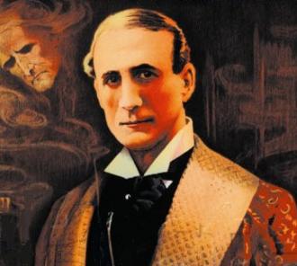 Harry Arthur Saintsbury - Saintsbury as Sherlock Holmes, c. 1903