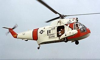 Sikorsky HH-52 Seaguard - A U.S. Coast Guard HH-52A Seaguard helicopter