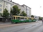 HKL tram line 4 on Mannerheimintie 01.jpg