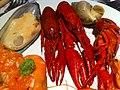 HK CWB 香港怡東酒店 Excelsior Hotel buffet 龍蝦仔 Seafoods 淡菜 Dried Mussel Dec-2011.jpg