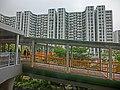 HK Hung Hom Harbour Place view footbridge n Whampoa Garden 14-Mar-2013.JPG
