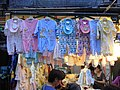 HK Mong Kok Fa Yuen Street evening child clothing stall Sept-2012.JPG