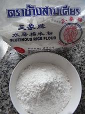 Glutinous rice wikipedia glutinous rice flour ccuart Images