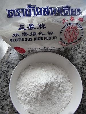 Glutinous rice - Glutinous rice flour