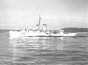 HMCS Drumheller - Image: HMCS Drumheller