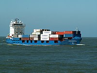 HMS Goodwill IMO 9121857 approaching Port of Rotterdam 08-Apr-2006.jpg