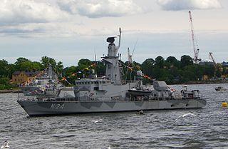 HSwMS <i>Sundsvall</i> (K24) Swedish corvette