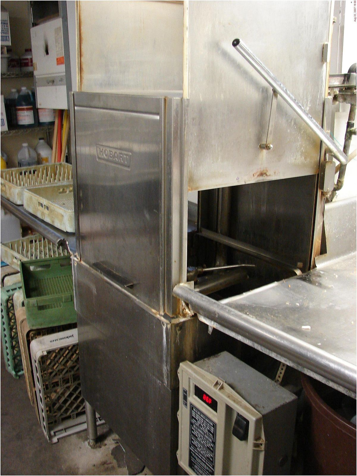 Commercial Kitchen Pre Fan Grease Filter Rack