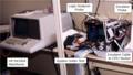 HP64100A Logic Development System debugging a microprocessor.png