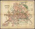 HUA-210079-Plattegrond van de stad Utrecht met weergave van de bebouwing en straatnamen evenals de grenzen van de kiesdistricten voor de Tweede Kamer en Gemeente.jpg