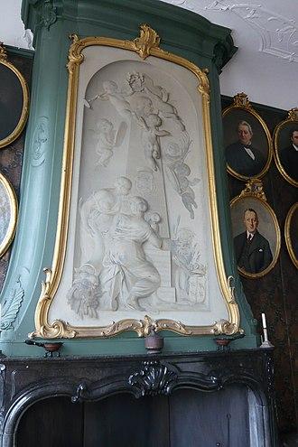 Tako Hajo Jelgersma - Image: Haarlem Regentenkamer Hofe van Noblet Jelgersma