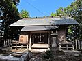 Haiden of Ise-oomikami shrine Shimonomiya.JPG
