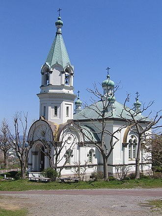 100 Soundscapes of Japan - Image: Hakodate Russian Orthodox Church, May 2006