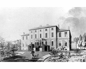 Government House (Nova Scotia) - Nova Scotia's Government House as it appeared in 1819