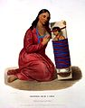 Hall and McKenney, History of the Indian..., mother and child Wellcome L0021248.jpg