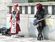 Bridge of Harajuku, Tokyo, a famous place for cosplayers