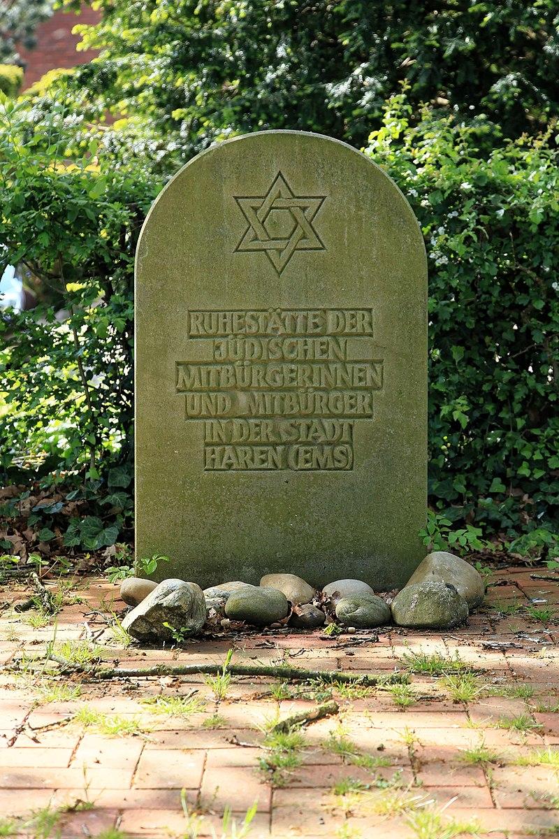 Haren - Landegger Straße + An der Tange - Jüdischer Friedhof 02 ies.jpg
