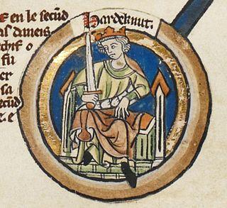 Harthacnut King of Denmark