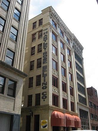 Edward Stotz - Image: Hartley Rose Belting Company Building