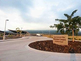 Hawaii Community College - Hawaii Community College at Palamanui, near Kailua Kona, the Big Island of Hawaii, United States