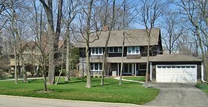 Hazel Avenue/Prospect Avenue Historic District - Two houses in the district