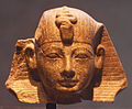 Head of Pharaoh Amenhotep II from a Sphinx Statue - 18th Dynasty - ÄS 500.jpg