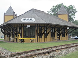 Hearne Railroad Depot Museum (2011)