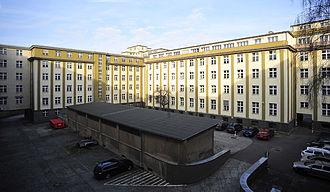 Waffenamt - Former Army Ordnance Department (courtyard), Jebensstraße corner Hertz Avenue