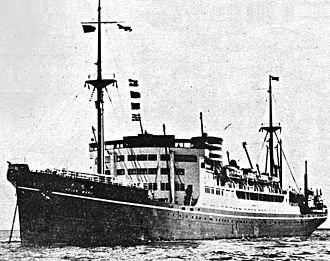 Hikawa Maru-class ocean liner - Image: Heian Maru