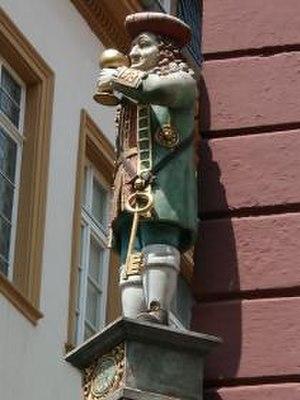 Perkeo of Heidelberg - Perkeo statue in Heidelberg