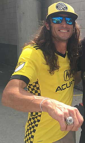 Frankie Hejduk - Image: Hejduk Frankie Columbus Crew SC Meet the Team 2017