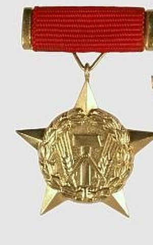 Orders, decorations, and medals of East Germany - Medal obverse