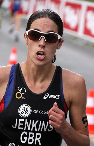 2011 ITU World Championship Series - Helen Jenkins won her first World Series round in London.