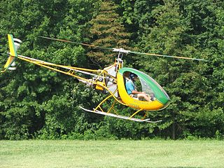 Eagle Helicycle American single-seat helicopter